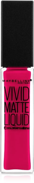Блеск для губ - Maybelline New York Color Sensational Vivid Matte Liquid