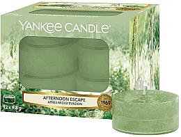 Духи, Парфюмерия, косметика Чайные свечи - Yankee Candle Afternoon Escape Tealights