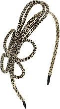 Духи, Парфюмерия, косметика Обруч-шнур для волос, черный - Элита