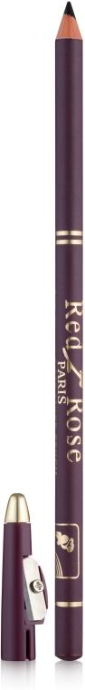 Vizavi Professional Red Rose Eye & Lip Liner Pencil - Карандаш для глаз и губ с точилкой: купить по лучшей цене в Украине | Makeup.ua
