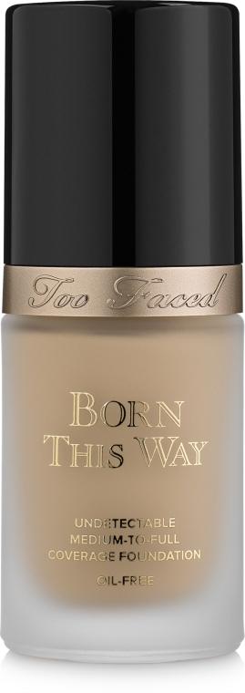 Тональная основа - Too Faced Born This Way Foundation — фото N1