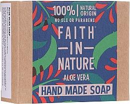 Духи, Парфюмерия, косметика Мыло для рук с алоэ вера - Faith In Nature Aloe Vera Soap