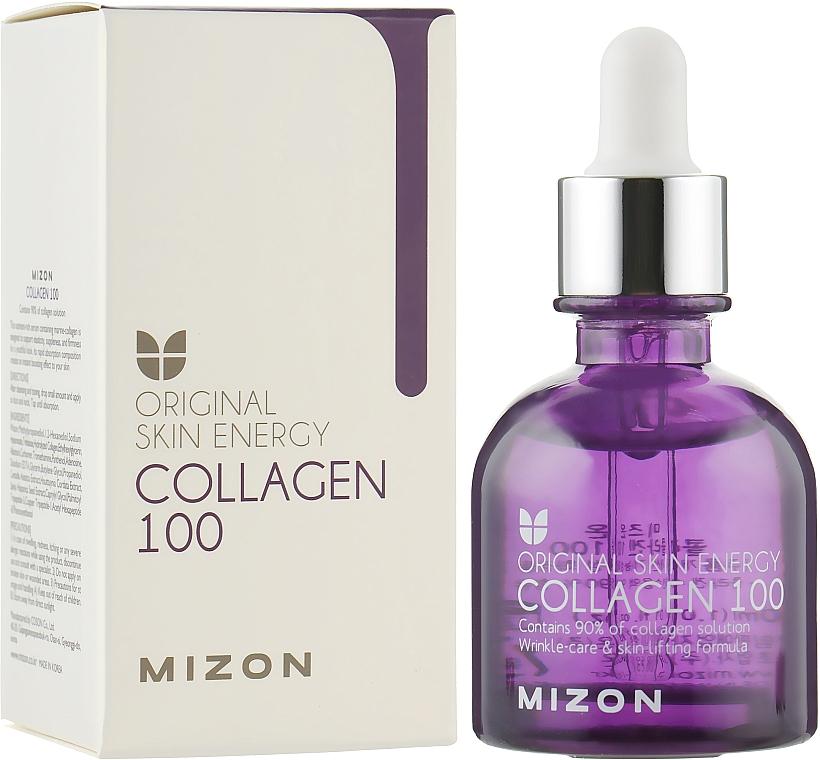 Коллагеновая сыворотка для упругости кожи - Mizon Original Skin Energy Collagen 100 Ampoule