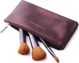 Духи, Парфюмерия, косметика Набор кистей для макияжа, 3шт - FreshMinerals Brush and Cosmetic Bag