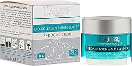 Парфумерія, косметика Крем з колагеном і маслом ши 55+ - Ava Laboratorium L'Arisse 5D Anti-Wrinkle Cream Bio Collagen + Shea Butter