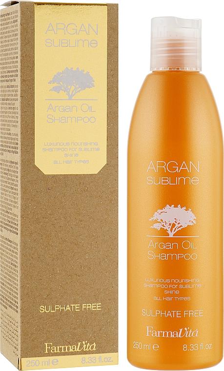 Шампунь с Аргановым маслом - Farmavita Argan Sublime Shampoo