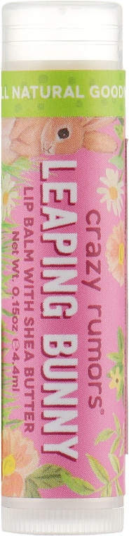 Бальзам для губ - Crazy Rumors Leaping Bunny Lip Balm