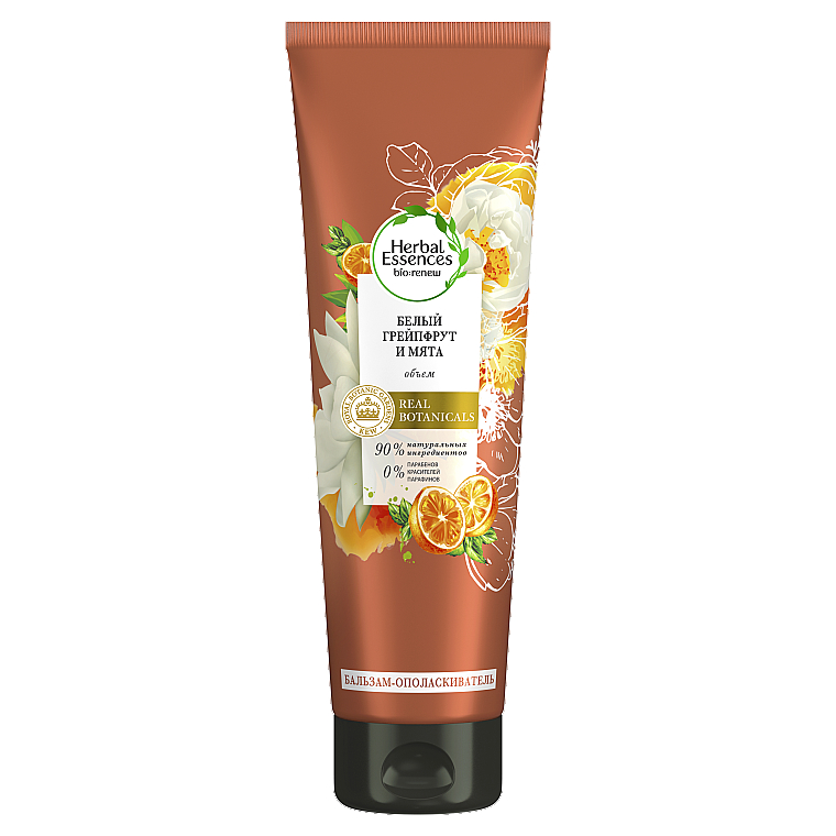 "Бальзам-ополаскиватель ""Белый грейпфрут и мята Моса"" - Herbal Essences White Grapefruit & Mosa Mint Rinse Conditioner"