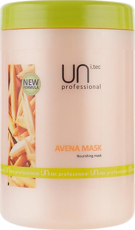 Питательная маска для волос - UNi.tec Professional Avena Mask