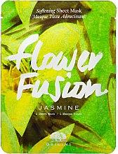 Духи, Парфюмерия, косметика Смягчающая тканевая маска для лица с жасмином - Origins Flower Fusion Jasmine Softening Sheet Mask