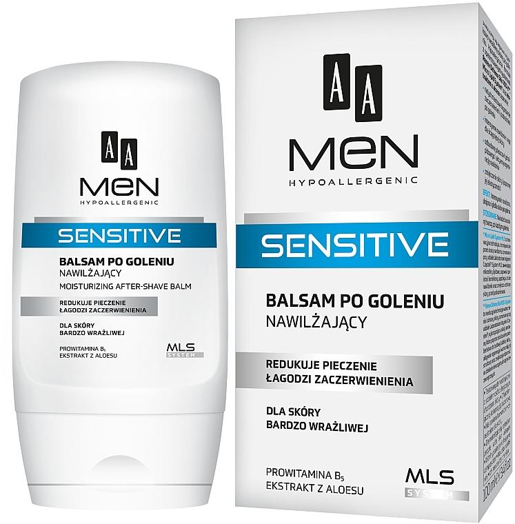Бальзам после бритья - AA Men Sensitive Moisturizing After-Shave Balm