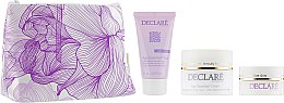 Набор, фиолетовый - Declare Age Control Age Essential (mask/75ml+cr/50ml+eye/cr/15ml+bag) — фото N1