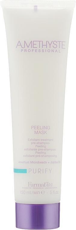 Пилинг для кожи головы - Farmavita Amethyste Purify Peeling Mask
