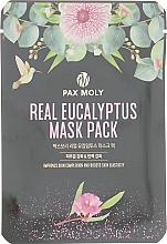 Духи, Парфюмерия, косметика Маска тканевая с экстрактом эвкалипта - Pax Moly Real Eucalyptus Mask Pack