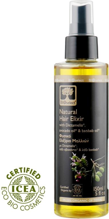 Естественный натуральный эликсир для волос - BIOselect Natural Hair Elixir With Dictamella