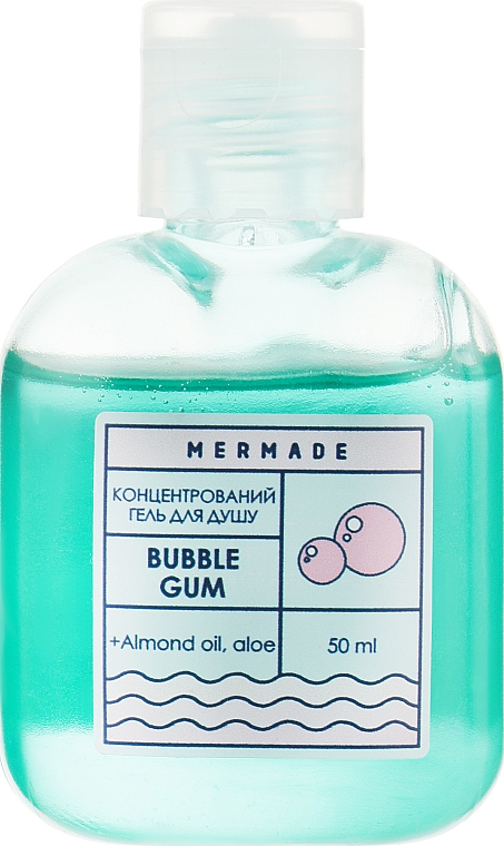 """Концентрированный гель для душа """"Жевательная резинка"""" - Mermade Bubble Gum"""