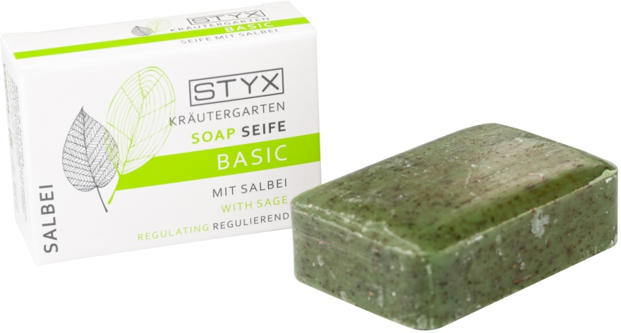 "Мыло ""Шалфей"" - Styx Naturcosmetic Basic Soap With Sage"