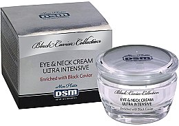 Духи, Парфюмерия, косметика РАСПРОДАЖА Крем для глаз и шеи - Mon Platin DSM Black Caviar Eye And Neck Ultra Intensive Cream With Vitamins Capsules *