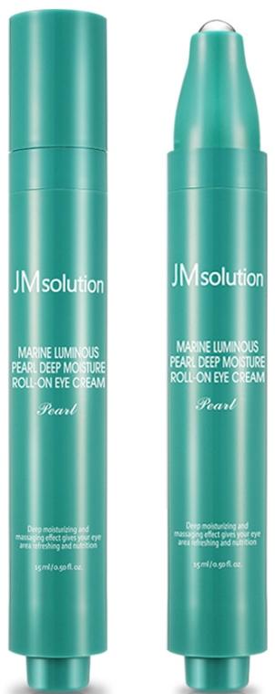 Крем для глаз с морскими минералами - JMsolution Marine Luminous Pearl Deep Roll-On Eye Cream