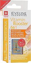 Духи, Парфюмерия, косметика Базовое покрытие для лака 6в1 - Eveline Cosmetics Nail Therapy Professional: Vitamin Booster