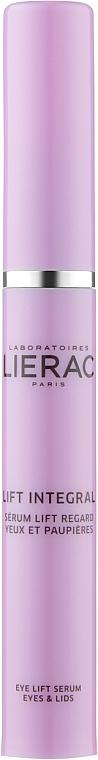 Сыворотка-лифтинг для век и кожи вокруг глаз - Lierac Lift Integral Serum Lift Regard Yeux Et Paupieres