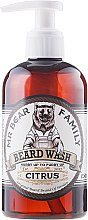 Духи, Парфюмерия, косметика Шампунь для бороды - Mr. Bear Family Beard Wash Citrus