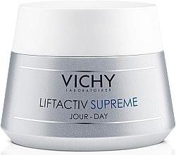 Парфумерія, косметика Засіб тривалої дії: корекція зморшок і відновлення пружності для нормальної та комбінованої шкіри - Vichy Liftactiv Supreme Day Normal to Combi Skin