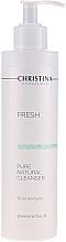 Парфумерія, косметика Натуральний очисник для всіх типів шкіри - Christina Fresh Pure & Natural Cleanser