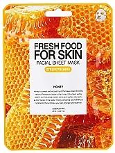 "Духи, Парфюмерия, косметика Тканевая маска для лица ""Мед"" - Superfood For Skin Facial Sheet Mask Honey Strenghtening"