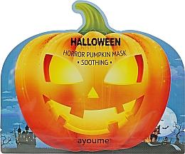 Духи, Парфюмерия, косметика Маска успокаивающая с экстрактом тыквы - Ayoume Halloween Horror Pumpkin Mask Soothing