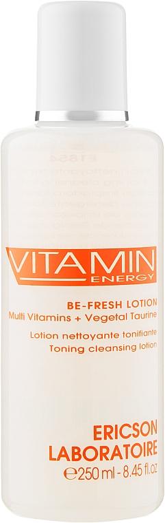 Тонизирующий очищающий лосьон - Ericson Laboratoire Vitamin Energy Be Fresh Lotion