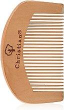 Духи, Парфюмерия, косметика Деревянный гребешок среднезубый, CLR-342 - Christian