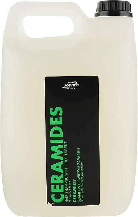 Шампунь для всех типов волос с керамидами - Joanna Professional Hairdressing Shampoo