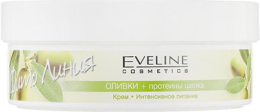 """Питательный крем для тела """"Оливки и протеины шелка"""" - Eveline Cosmetics"""