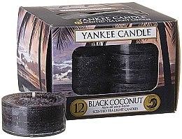 """Духи, Парфюмерия, косметика Чайные свечи """"Чёрный кокос"""" - Yankee Candle Scented Tea Light Candles Black Coconut"""