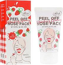 Духи, Парфюмерия, косметика Очищающая маска-пленка для носа с экстрактом клубники - Esfolio Strawberry Gummy Peel Off Nose Pack
