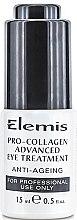 Духи, Парфюмерия, косметика Сыворотка для кожи вокруг глаз - Elemis Pro-Collagen Advanced Eye Treatment For Professional Use Only