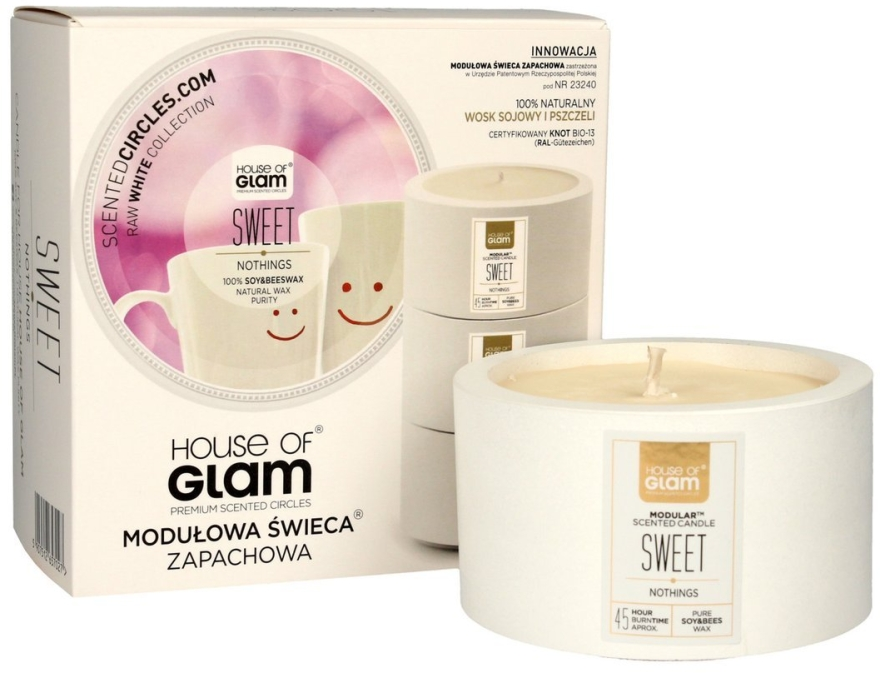 Ароматическая свеча - House of Glam Sweet Nothings Candle  — фото N1