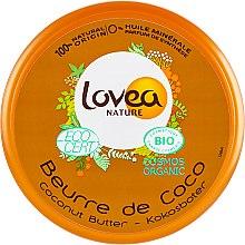 Духи, Парфюмерия, косметика Масло для тела с кокосовым маслом - Lovea Nutritive Bodybutter Coconut