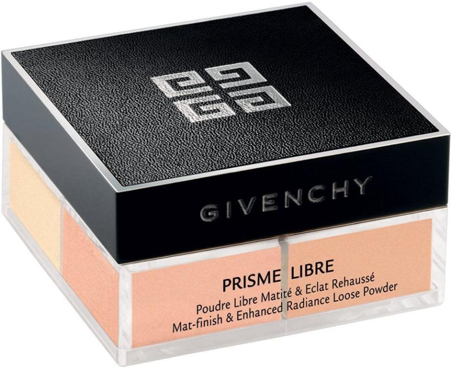 Рассыпчатая пудра - Givenchy Prisme Libre Mat-finish & Enhanced Radiance Loose Powder