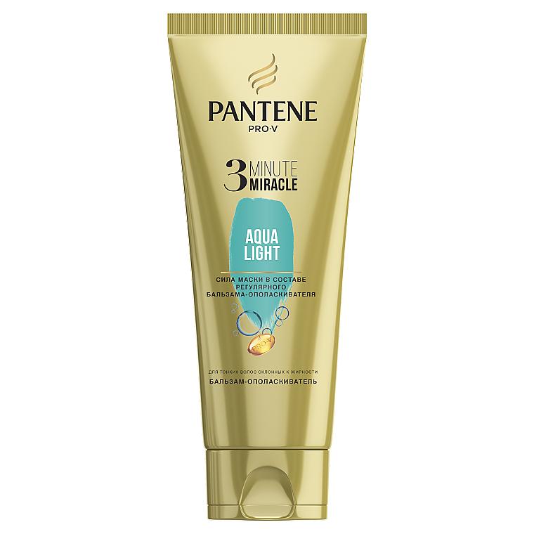 Бальзам-ополаскиватель для волос - Pantene Pro-V 3 Minute Miracle Aqua Light