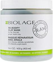 Духи, Парфюмерия, косметика Маска для волос - Biolage RAW Re-Bodify Clay Mask