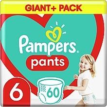 Духи, Парфюмерия, косметика Подгузники-трусики Pants Размер 6, 15+ кг, 60шт - Pampers