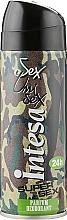 """Духи, Парфюмерия, косметика Дезодорант-спрей парфюмированный 24 часового действия """"Supersex"""" - Intesa Unisex Parfum Deodorant Supersex 24"""