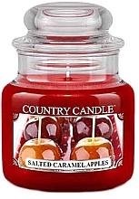 Парфумерія, косметика Ароматична свічка в банці - Country Candle Salted Caramel Apples