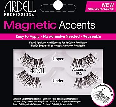 Парфумерія, косметика Накладні вії  - Ardell Magnetic Lashes Accents 002