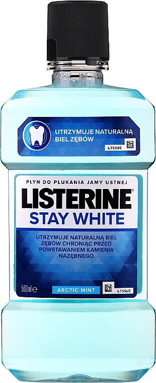 "Ополаскиватель для полости рта ""Белизна зубов"" - Listerine Stay White"