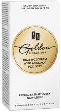 Духи, Парфюмерия, косметика Питательный крем для для области вокруг глаз - AA Cosmetics Golden Conditioning and Smoothening Eye Contour Cream