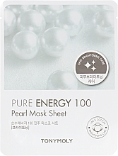 Парфумерія, косметика Тканева маска з екстрактом жемчугу - Tony Moly Pureness 100 Pearl Mask Sheet