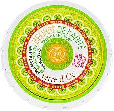 "Духи, Парфюмерия, косметика Масло для тела ""Зеленый чай"" - Terre d'Oc Body Butter Green Tea"